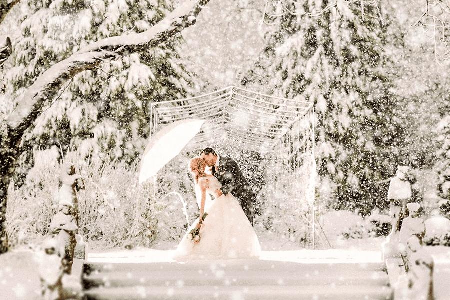 Cum sa arati bine la nunta ta, daca afara este iarna