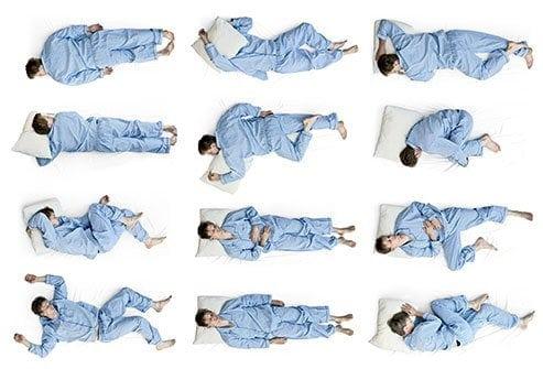 Cele mai bune pozitii de somn
